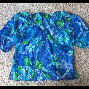 Lauren L silk blouse